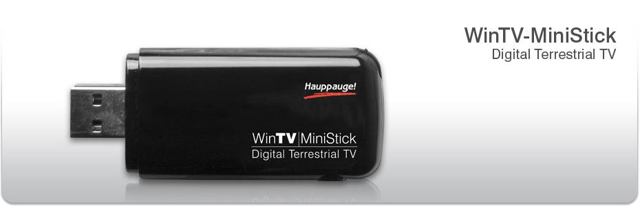 Home Prodotti Sintonizzatore TV esterni WinTV-MiniStick HD